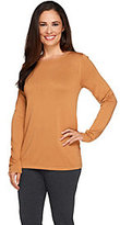 Joan Rivers Classics Collection Joan Rivers Wardrobe Builders Round Neck Long Sleeve Sweater