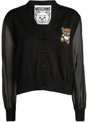 Moschino Teddy Bear Cardigan