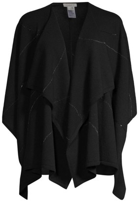 Lafayette 148 New York Embroidered Cashmere Wrap
