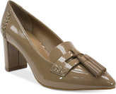 Tahari Tami Pointed Toe Loafer Pumps