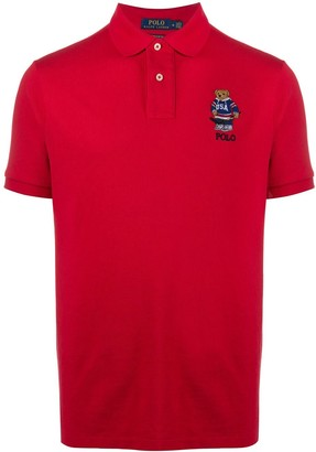 Polo Ralph Lauren Embroidered Bear Polo Shirt