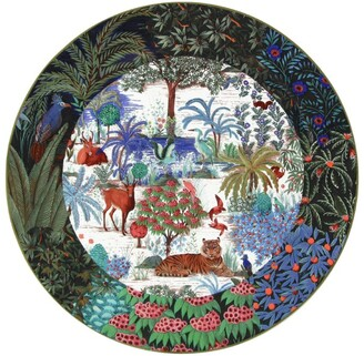 Gien Jardin Du Palais Cake Platter (30Cm)