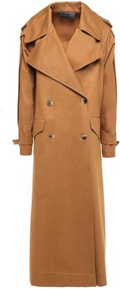 Alberta Ferretti Cotton-twill Trench Coat
