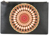 Givenchy patterned clutch