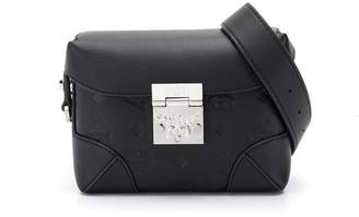 MCM Embossed Monogram Belt Bag