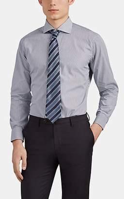 Barneys New York MEN'S STRIPED COTTON DRESS SHIRT