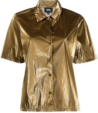 Stussy Metallized Short-Sleeved Shirt