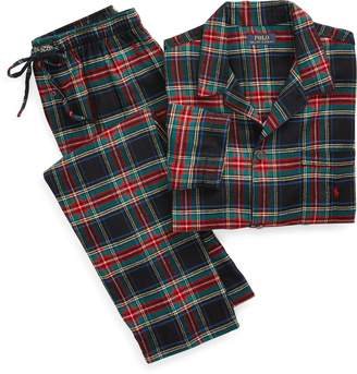 Ralph Lauren Plaid Flannel Sleep Set