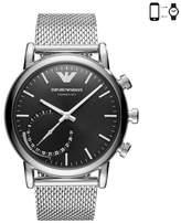 Emporio Armani Men's Mesh Bracelet Hybrid Smart Watch, 43Mm