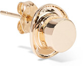 Alison Lou + Hasbro Hat 14-karat Gold Earring - one size