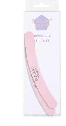 Elegant Touch Professional Nail File X 2