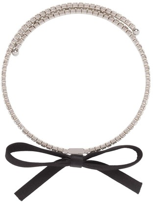 Miu Miu Crystals Necklace
