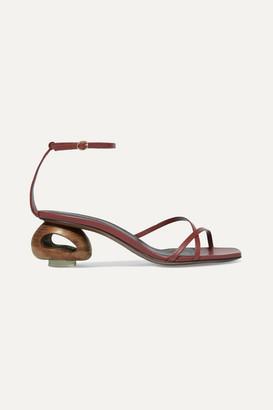 Neous Phippium Leather Sandals - Tan