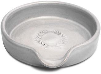 Laurèl Spoon Rest - White - Farmhouse Pottery