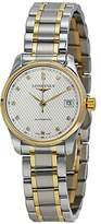 Longines Master Collection in Steel and 18K Gold Automatic Diamond Markers Women's Watch