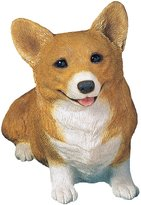 Corgi Sandicast Pembroke Welsh Sculpture, Sitting