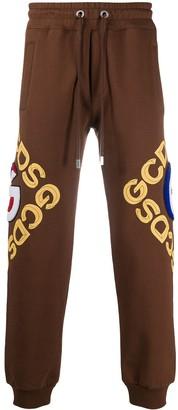 GCDS Graphic Logo Track Pants