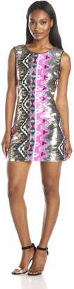 Ark & Co Women's Multi Sequin Tank Dress