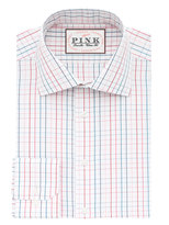 Thomas Pink Wilson Check Classic Fit Button Cuff Shirt