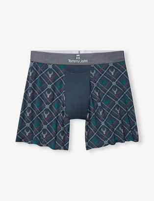 Tommy John Second Skin Relaxed Fit Boxer, Print