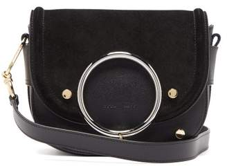 See by Chloe Mara Leather And Suede Cross-body Bag - Womens - Black