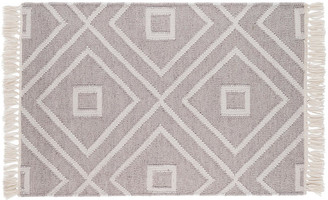 Dash & Albert Mali Indoor/Outdoor Rug - Gray 5'x8'