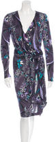 Emilio Pucci Floral Wool Dress w/ Tags