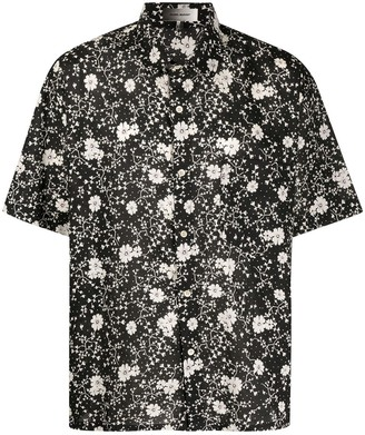 Isabel Marant Floral-Print Short Sleeved Shirt
