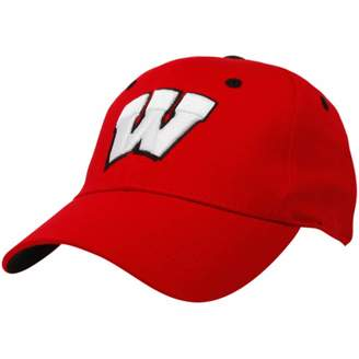 Top of the World Unbranded Wisconsin Badgers Youth Cardinal One-Fit Hat