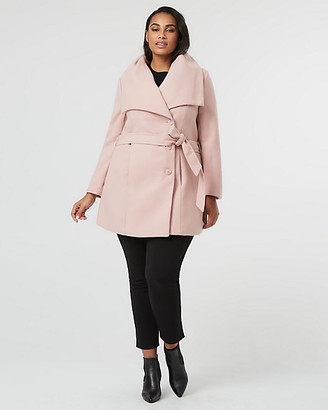 Le Château Cashmere-like Shawl Collar Coat