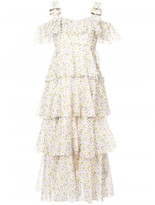 Alexa Chung printed voile dress