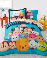 Disney Disney's Tsum Tsum Teal Stacks Twin 5 Piece Comforter Set