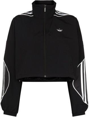 adidas Cropped Tri-Stripe Jacket