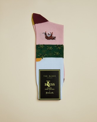 Ted Baker SETSOON Cotton tiger socks