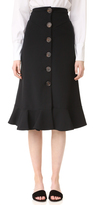 Awake Button Front Skirt