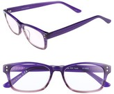 Corinne McCormack Women's Edie 50Mm Reading Glasses - Purple