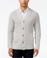 Alfani Men's Two-Pocket Textured Cardigan, Only at Macy's