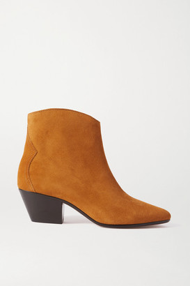 Isabel Marant Dacken Suede Ankle Boots - Light brown