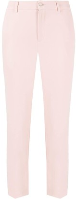Liu Jo Cropped Slim-Fit Trousers
