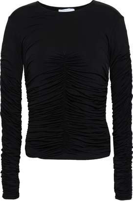 Ninety Percent Ruched Stretch-jersey Top