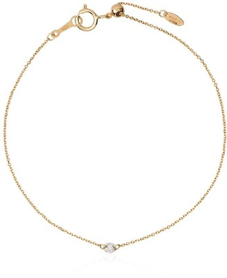 PERSÉE 18kt Yellow Gold And Diamond Chain Bracelet