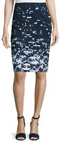 Jil Sander Navy PIXELATED SKIRT