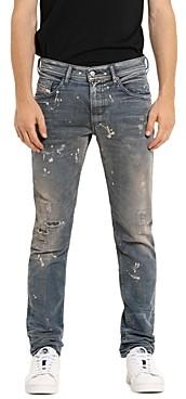 Diesel Thommer-t Slim Fit Sweat Jeans in Denim