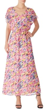 INC International Concepts Inc Abstract-Print Maxi Dress, Created for Macy's