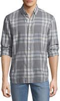 Joe's Jeans Men's Piper Herringbone Sport Shirt