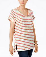 Style&Co. Style & Co. Petite Striped Top, Only at Macy's