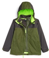 The North Face Boy's Chimborazo Triclimate Waterproof 3-In-1 Jacket