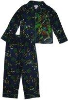 Nickelodeon Teenage Mutant Ninja Turtles Boys' 2-Piece Button-Front Pajama Set
