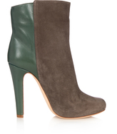 Malone Souliers Madleen bi-colour suede ankle boots
