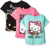Hello Kitty Girls' Big Girls' 3 Pack T-Shirt Shirt